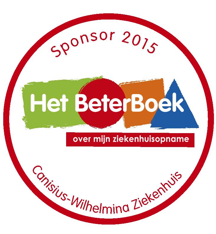 """Wij nemen deel aan het maatschappelijke zorgproject """"Het BeterBoek"""" voor de kinderafdeling en dagbehandeling in Het Canisius Wilhelmina Ziekenhuis te Nijmegen."""